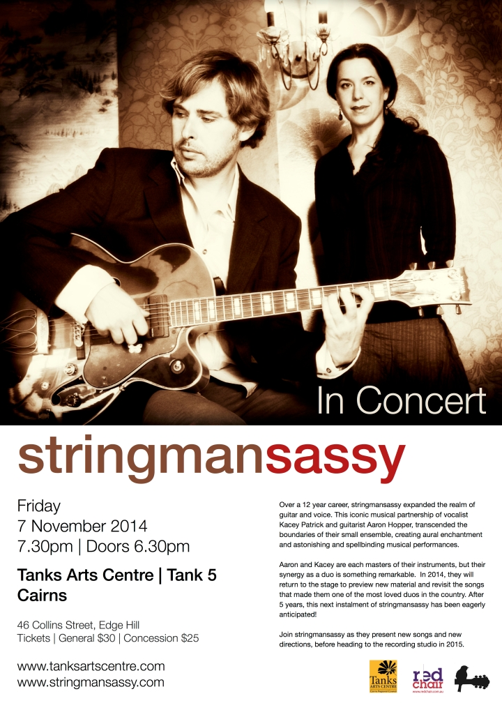 stringmansassy | Tanks Arts Centre | 2014