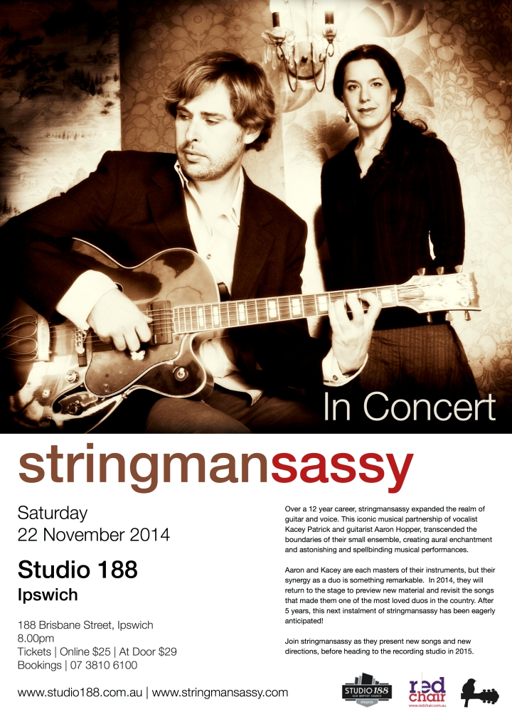 stringmansassy | Studio 188 | 2014